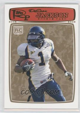 2008 Topps Rookie Progression Gold #178 - DeSean Jackson /199