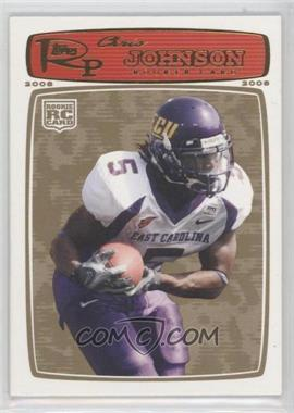2008 Topps Rookie Progression Gold #207 - Chris Johnson /199