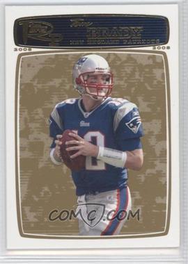 2008 Topps Rookie Progression Gold #3 - Tom Brady /199