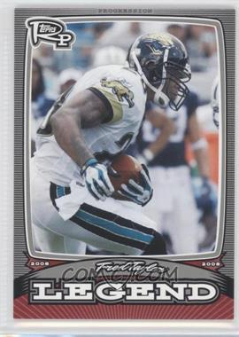 2008 Topps Rookie Progression Legends Silver #PL-FT - Fred Taylor /299