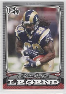 2008 Topps Rookie Progression Legends Silver #PL-SJ - Steven Jackson /299
