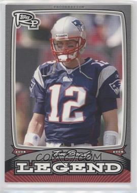 2008 Topps Rookie Progression Legends Silver #PL-TB - Tom Brady /299