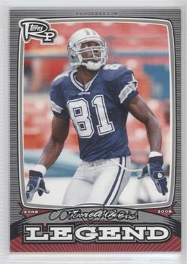 2008 Topps Rookie Progression Legends Silver #PL-TO - Terrell Owens /299