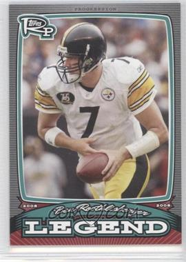 2008 Topps Rookie Progression Legends #PL-BR - Ben Roethlisberger