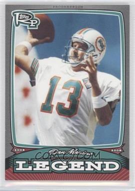 2008 Topps Rookie Progression Legends #PL-DM - Dan Marino