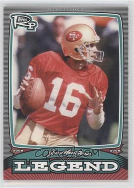 2008 Topps Rookie Progression Legends #PL-JM - Joe Montana