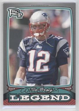 2008 Topps Rookie Progression Legends #PL-TB - Tom Brady