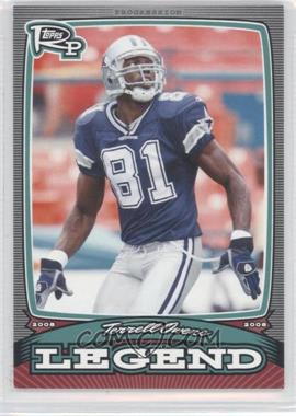 2008 Topps Rookie Progression Legends #PL-TO - Terrell Owens