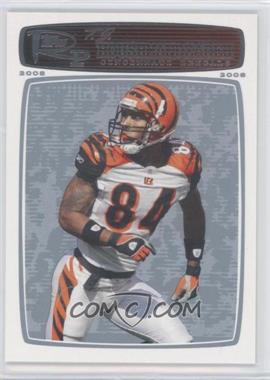2008 Topps Rookie Progression Platinum #30 - T.J. Houshmandzadeh /99