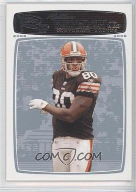 2008 Topps Rookie Progression Platinum #96 - Kellen Winslow Jr. /99