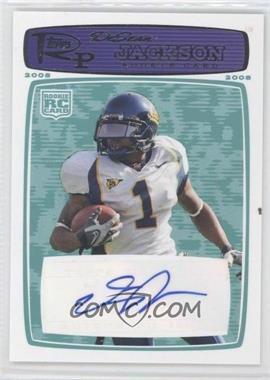 2008 Topps Rookie Progression Rookie Autographs Blue [Autographed] #178 - DeSean Jackson /79