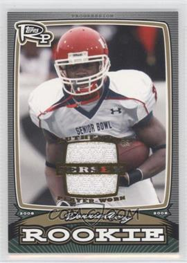 2008 Topps Rookie Progression Rookies Gold Jerseys [Memorabilia] #PR-DA - Donnie Avery /99