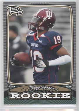 2008 Topps Rookie Progression Rookies Gold #PR-TP - Tracy Porter /199