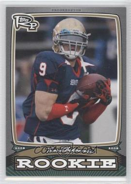 2008 Topps Rookie Progression Rookies Gold #PR-TZ - Tom Zbikowski /199