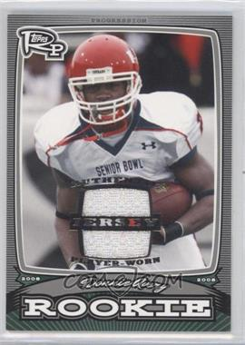 2008 Topps Rookie Progression Rookies Silver Jerseys [Memorabilia] #PR-DA - Donnie Avery /199