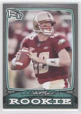 2008 Topps Rookie Progression Rookies #PR-MR - Matt Ryan