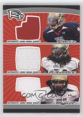 2008 Topps Rookie Progression Triple Jersey Relics Silver #PTR-DWM - [Missing] /50