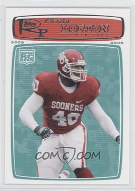 2008 Topps Rookie Progression #175 - Curtis Lofton