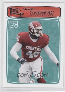 2008 Topps Rookie Progression #175 - [Missing]