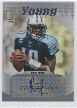 2008 Topps Signature Series #SS-VY - Vince Young /50