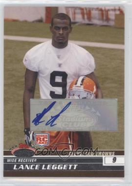 2008 Topps Stadium Club - [Base] - Rookie Autographs [Autographed] #167 - Lance Leggett