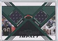 Mario Williams, Amobi Okoye /10