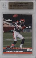 Jerome Simpson /1 [BGS AUTHENTIC]