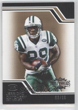 2008 Topps Triple Threads - [Base] - Gold #68 - Jerricho Cotchery /99