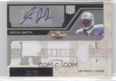 2008 Topps Triple Threads Autographed Prime Rookies #116 - Kevin Smith /25
