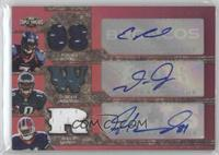 James Hardy, DeSean Jackson, Eddie Royal /36