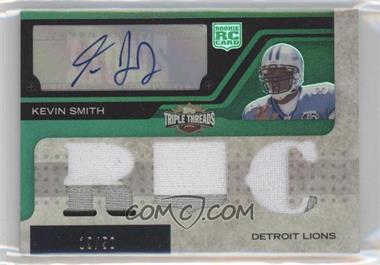 2008 Topps Triple Threads Emerald #116 - Kevin Smith /50