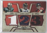 Matt Ryan, Chris Long, Jake Long /22