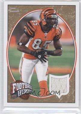 2008 UD Football Heroes [???] #23 - Chad Johnson