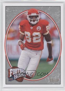 2008 UD Football Heroes [???] #40 - Dwayne Bowe /10