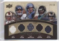 Alex Smith, Matt Schaub, Matt Hasselbeck, David Garrard, Marc Bulger /30
