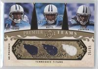 Vince Young, LenDale White, Chris Johnson /65