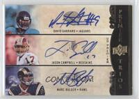 David Garrard, Jason Campbell, Marc Bulger /25