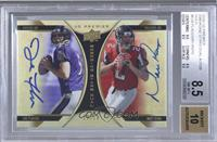 Joe Flacco, Matt Ryan /10 [BGS 8.5]