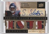 Steve Slaton /10