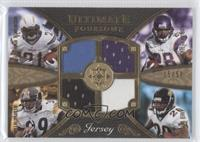 LaDainian Tomlinson, Adrian Peterson, Willie Parker, Fred Taylor /50