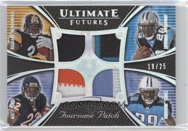 2008 Ultimate Collection [???] #UFRJ-14 - Rashard Mendenhall, Matt Forte /25