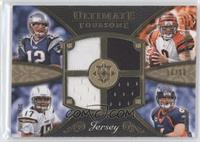 Tom Brady, Philip Rivers, Carson Palmer, Jay Cutler /50