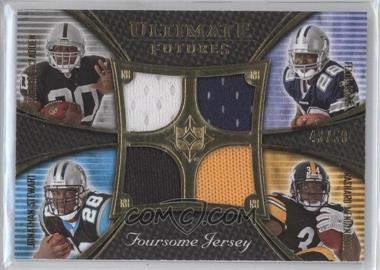 2008 Ultimate Collection Ultimate Futures Foursomes Jerseys Gold #UFRJ-1 - Felix Jones, Rashard Mendenhall /50