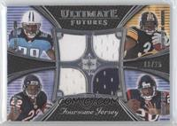 Matt Forte', Steve Slaton, Rashard Mendenhall, Chris Johnson /25