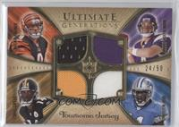 Limas Sweed, Roy Williams, Carson Palmer, John David Booty /50