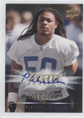 2008 Upper Deck - [Base] - Star Rookies Autographs [Autographed] #279 - Philip Wheeler /35