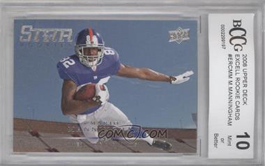 2008 Upper Deck - Excell Rookie Cards #ERC-MM - Mario Manningham [ENCASED]