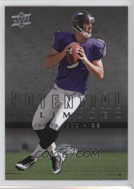 2008 Upper Deck - Potential Unlimited #PU18 - Joe Flacco