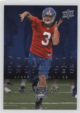 2008 Upper Deck - Potential Unlimited #PU2 - Andre' Woodson