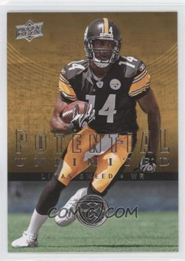 2008 Upper Deck - Potential Unlimited #PU22 - Limas Sweed